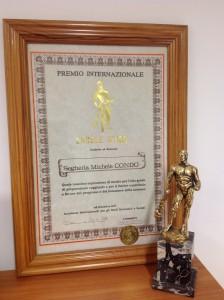 Premio Ercole d'Oro per Arte in olivo