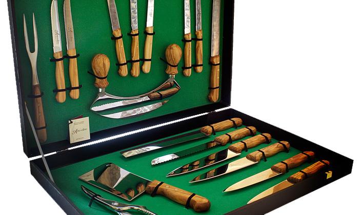 Confezione coltelli 18 pezzi