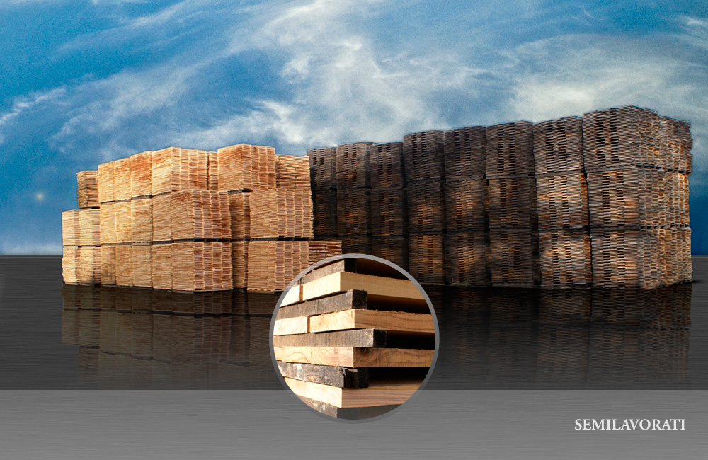 Semilavorati in legno di olivo