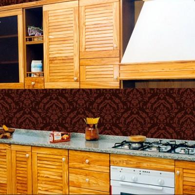 Cucina in legno di olivo