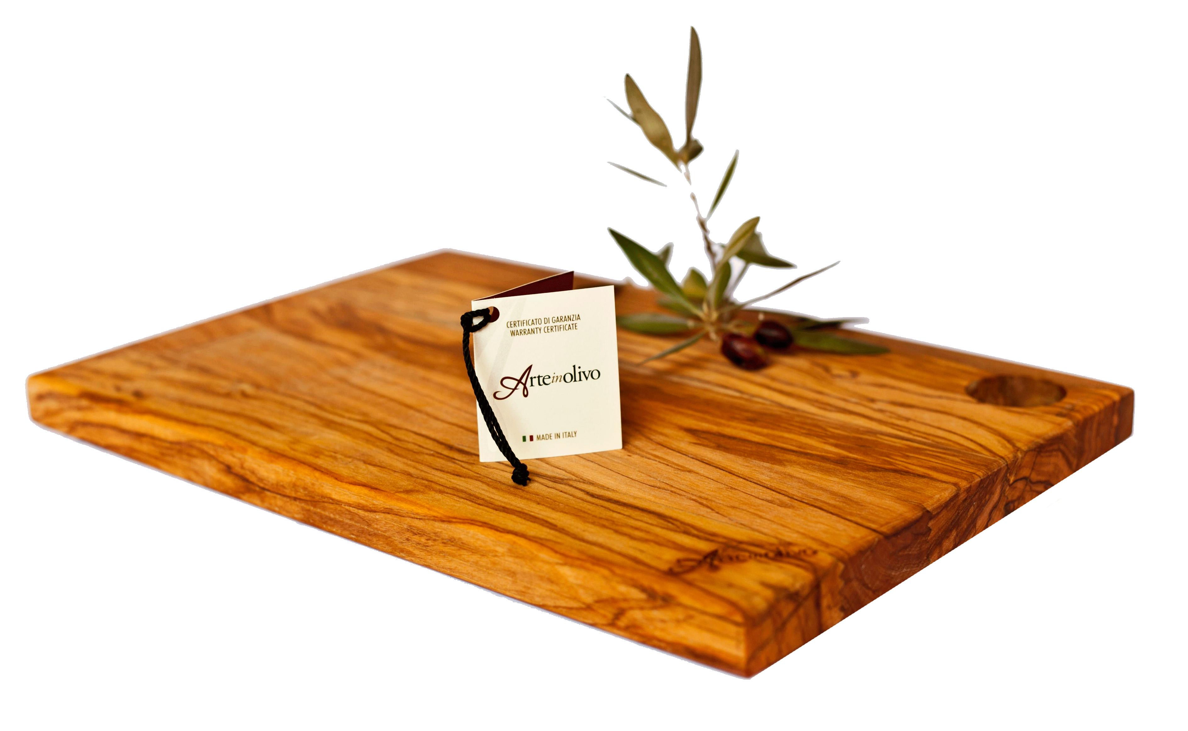 Parquet In Legno Di Ulivo tagliere rettangolare in legno di olivo   arte in olivo