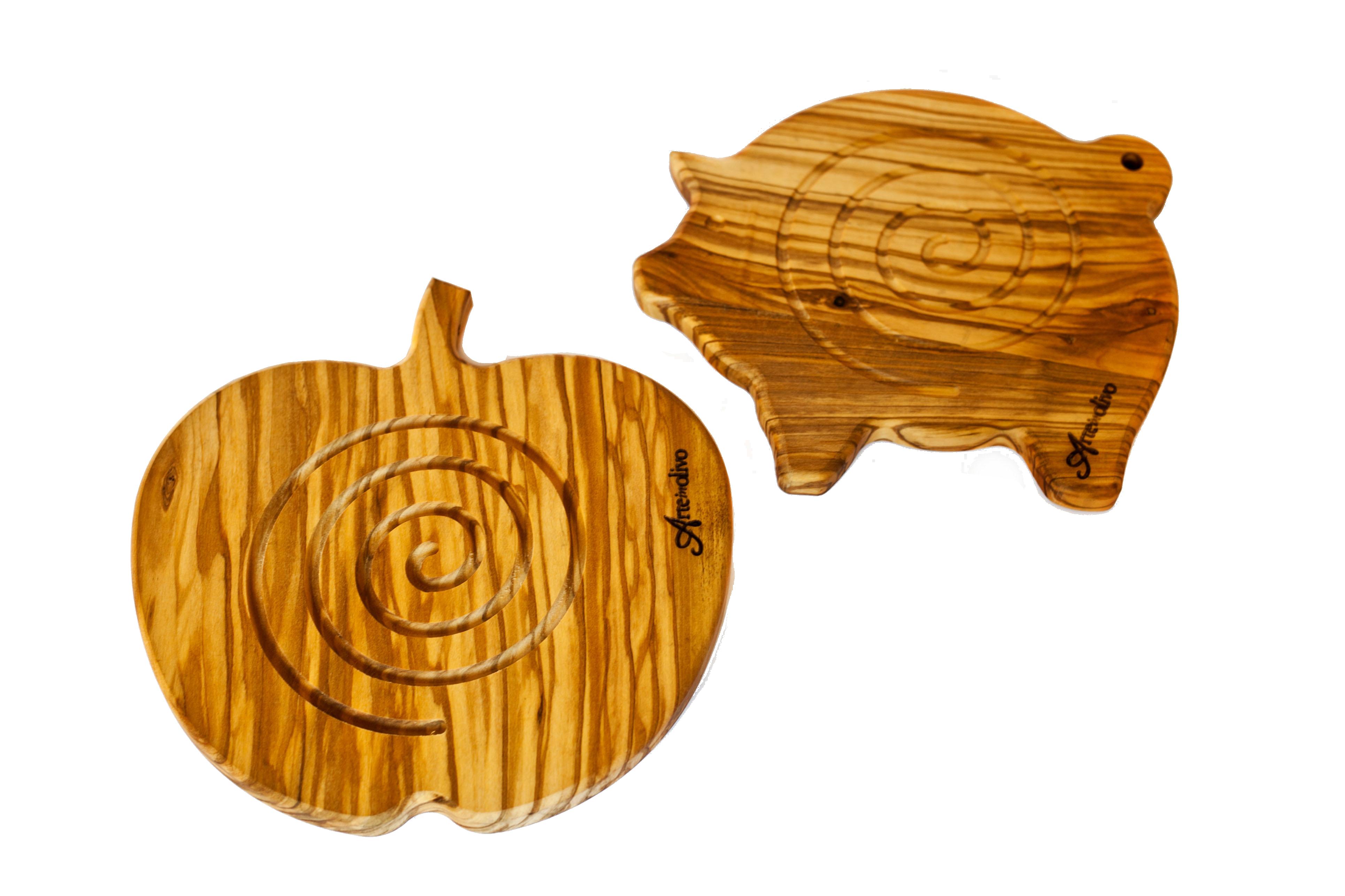 Sottopentola in legno di olivo