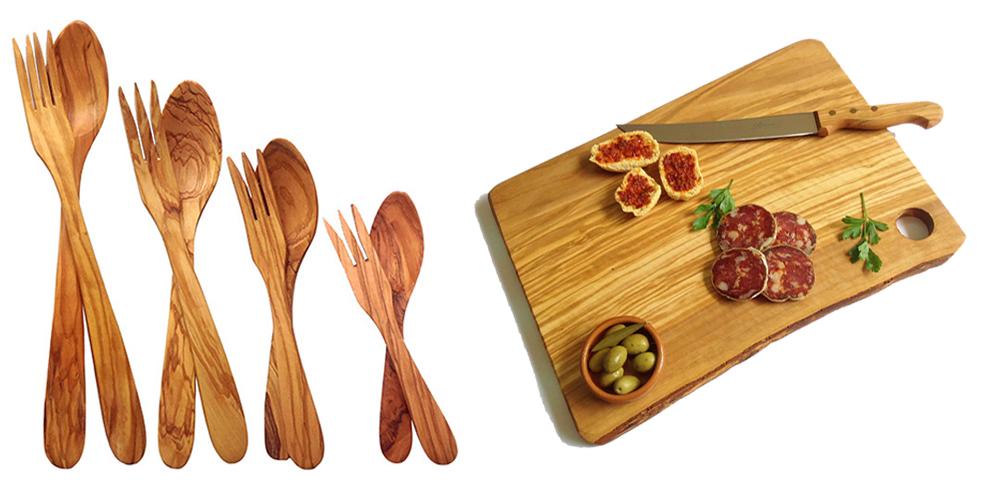 Oggettista legno di olivo